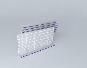 Wall shelves 2 3D