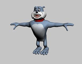 spike the dog 3D model