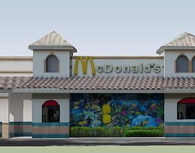 3D model McDonalds
