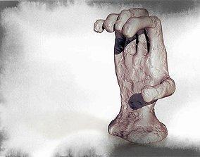 3D print model Zombie Hand Smartphone Holder