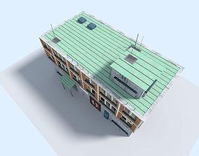 city building 3 3D asset