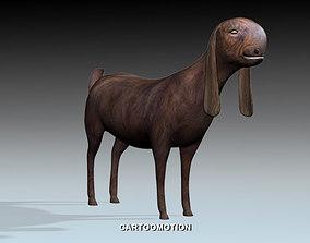 Syrian Goat Al SHAMI GOAT 3D asset