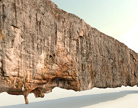 Cliff - Giant 420 meters prepared limestone cliff 3d 3