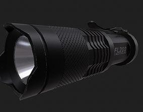 flashlight tactical 3D asset