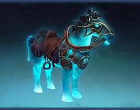 Lich Magic Horse 3D model