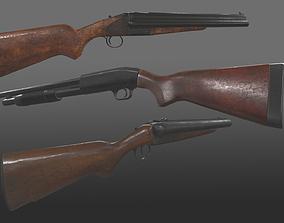 3D pistol shotgun