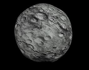 3D asset Animated HD Asteroid Model