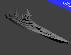 French Dunkerque Class 3D printable model