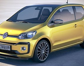 Volkswagen UP 3-door 2018 3D model