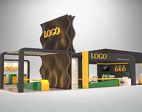 EXHIBITION-Booth-18x9 3D model