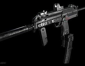 3D asset PBR MP7 A1