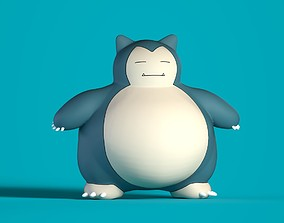 fantasy-and-fictional-creature 3D Snorlax