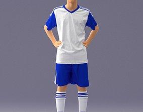 Soccer player 1114-2 3D model
