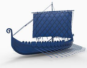 VIKING SHIP 3D print model