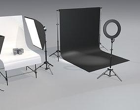 3D model Photo studio
