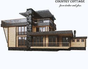 veneer Cottage 3D model