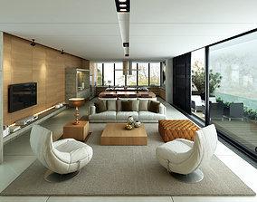 ND Penthouse Livingroom 3D