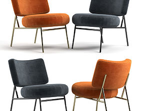 3D model Armchair Calligaris Coco