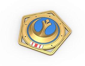 3D print model Republic medal from The Mandalorian TV