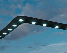 3D V-Shaped UFO Version 2