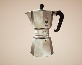 3D model VR / AR ready Coffee machine