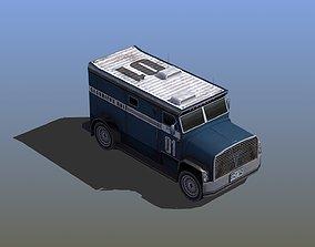3D model Security Van