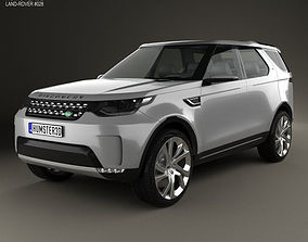 3D model Land Rover Discovery Vision 2014