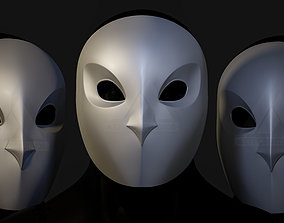 Gotham Knights Court of Owls Mask 3D Printing