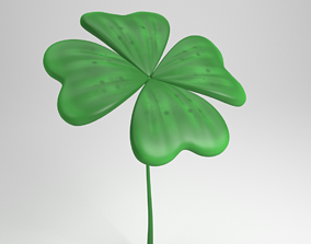 clover leaf 3D model
