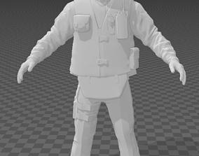 Policeman model like cs 3D asset