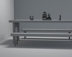 3D printable model Dining table
