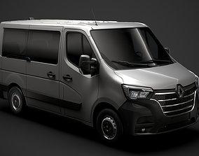 Renault Master L1H1 WindowVan 2020 3D model