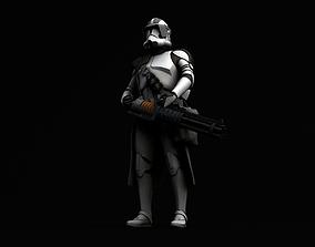 Star Wars Z 6 rotary blaster cannon 3D model