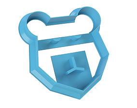 COOKIE CUTTER BEAR 3D printable model