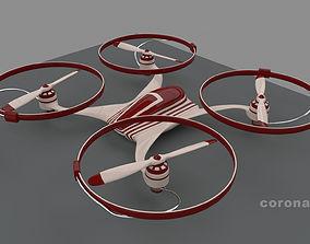 Quadrocopter 3D model
