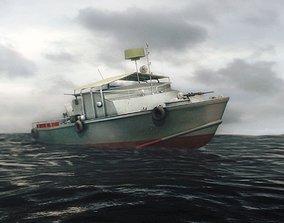 3D model Gunboat