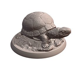 sculptures 3D printable model Turtle