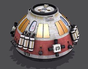 Escape Capsule Pod 3D model