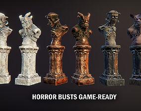 Horror busts 2 3D model