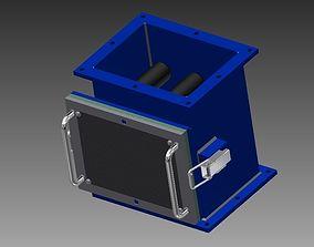 3D Magnetic separator rod step