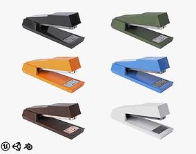 Stapler Collection 3D asset
