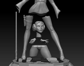 3D printable model Princess Leia Organa figurine