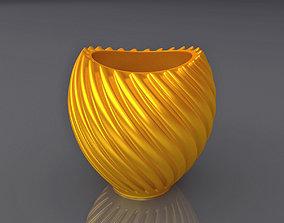 Vase Shape Design 3D Print Model pottery