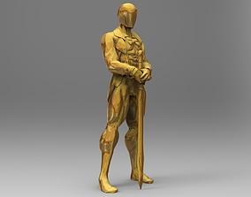 3D print model Oscars statue