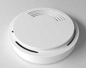 3D model Smoke Detector v2