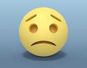 3D Sad Smiley