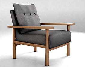 3D Jardan Archie sofa armchair