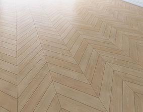 Parquet chevron classic light Floor 3D asset