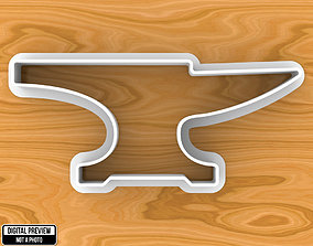 3D printable model Ironsmith Anvil Cookie Cutter