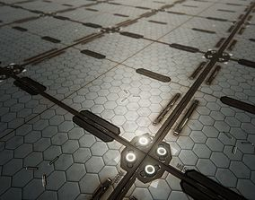 PBR Seamless Sci-Fi Textures Collection 3D model